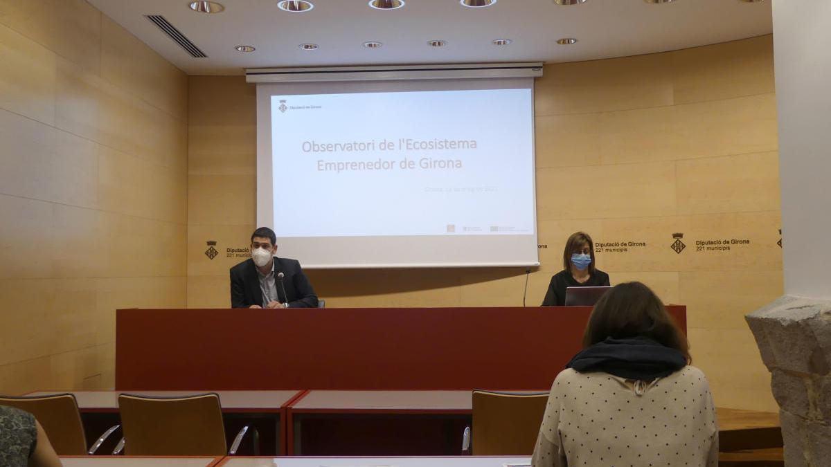 Presentació de l'Observatori de l'Emprenedoria de la Demarcació de Girona