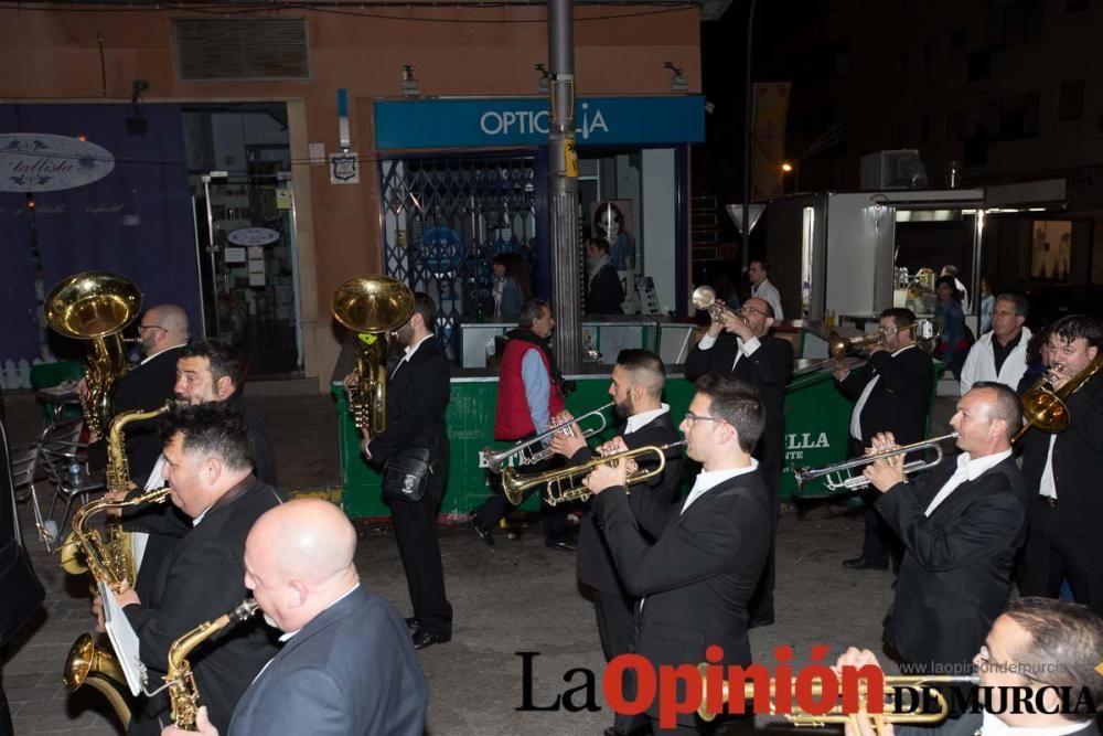 Entrada de bandas en Caravaca