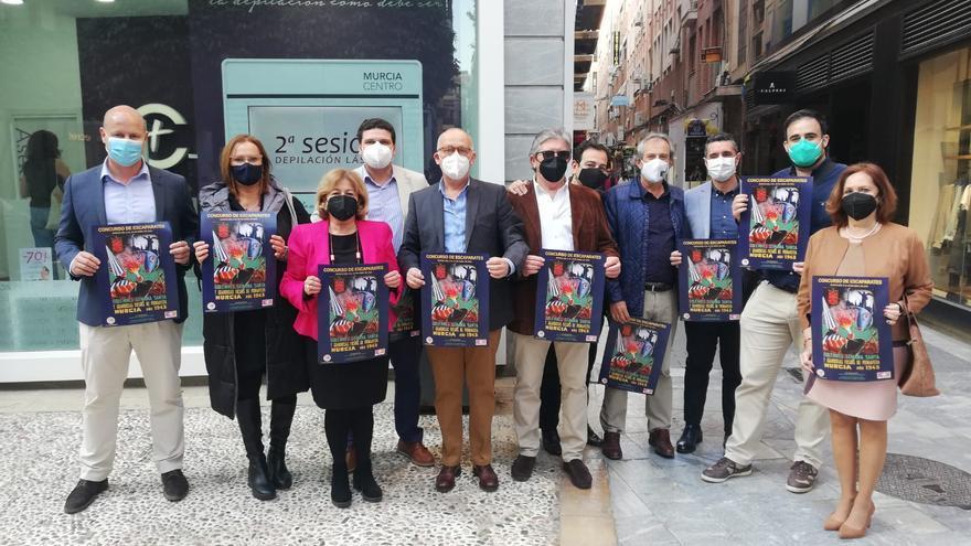 Concurso de escaparates con temática del Entierro de la Sardina en Trapería y Platería