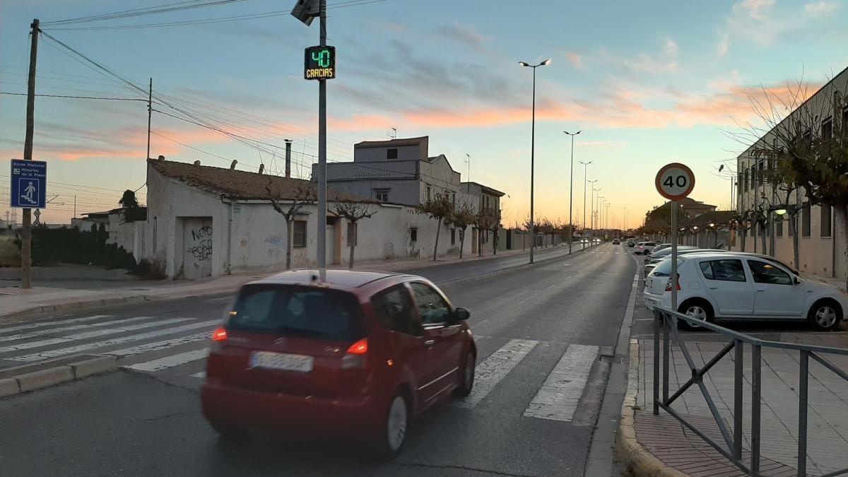 Vila-real sumará otros tres radares informativos para evitar accidentes