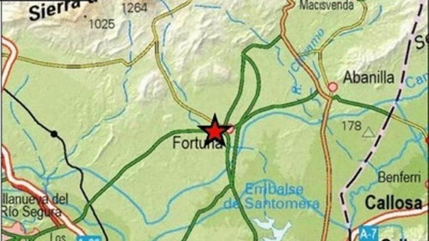 Siete terremotos sacuden Fortuna en cuatro días