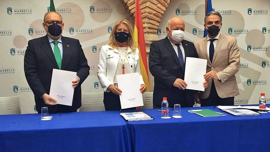 La Junta firma un protocolo para mejorar los centros de salud de Marbella