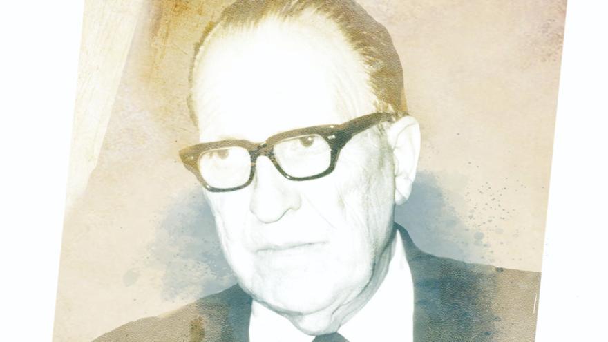 Agustín Millares Carló en el callejero de la capital grancanaria