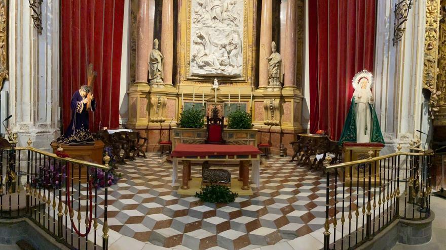 Semana Santa en Zamora | Actos del Vía Crucis en la Catedral y Siete Palabras en La Horta