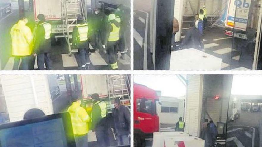 """Polizones se cuelan en camiones murcianos: """"Salieron tres personas, el susto es enorme"""""""