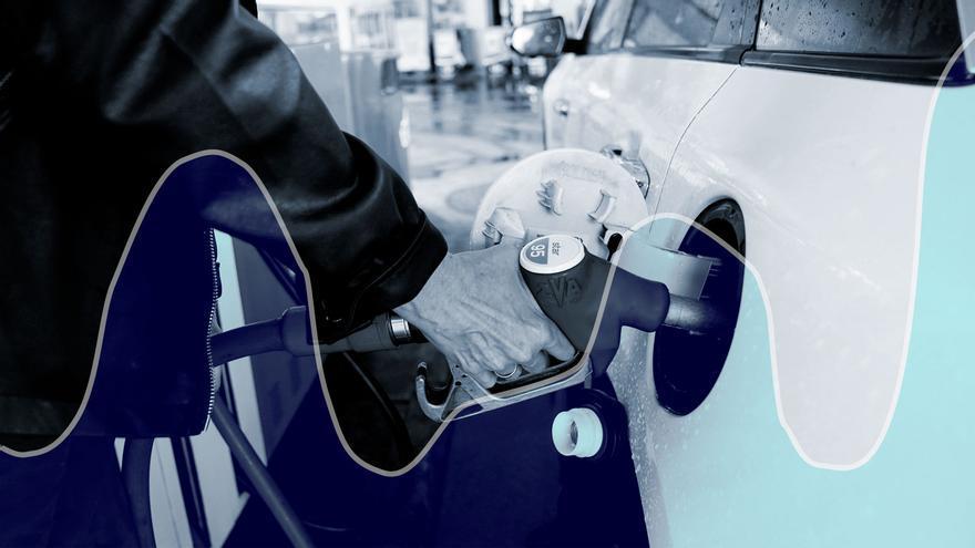 La gasolina, a precio récord como la luz