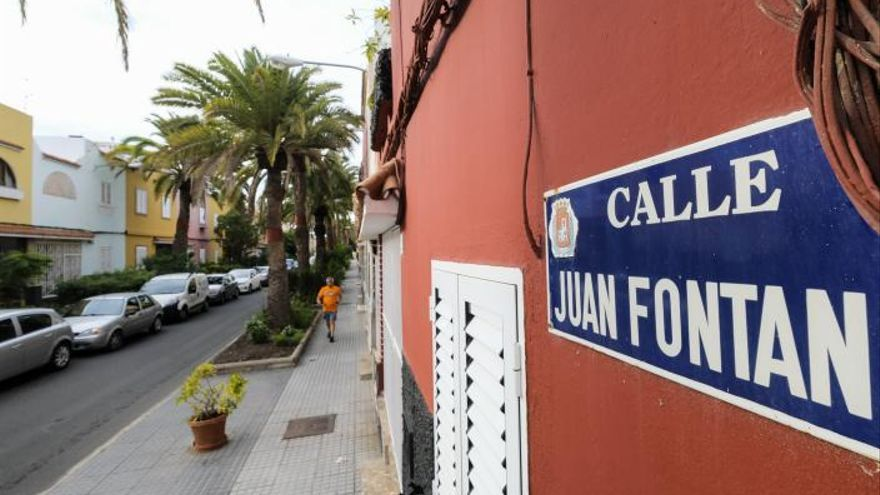 La desconocida calle del franquista  de Guinea Ecuatorial en Schamann