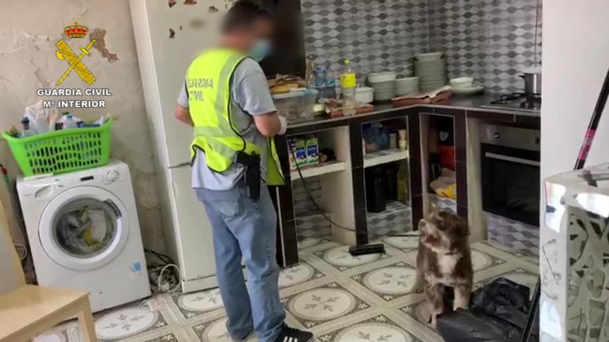 Detenidos tres miembros de una familia por vender drogas en el casco antiguo de Cox