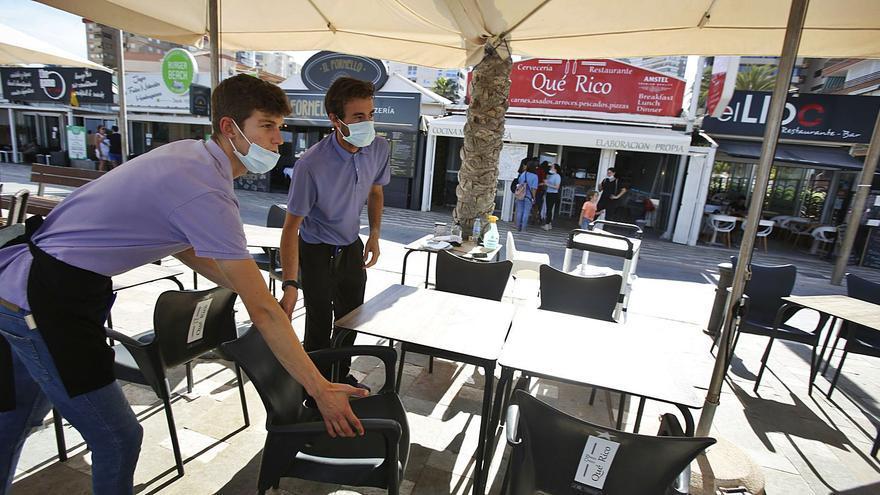 Restaurantes y bares no encuentran camareros para trabajar tras la pandemia en Alicante