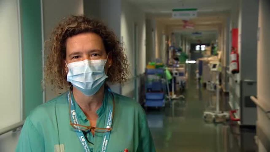 """La doctora que atendió al primer fallecido por coronavirus: """"No reaccionaba a ningún tratamiento contra los virus respiratorios"""""""