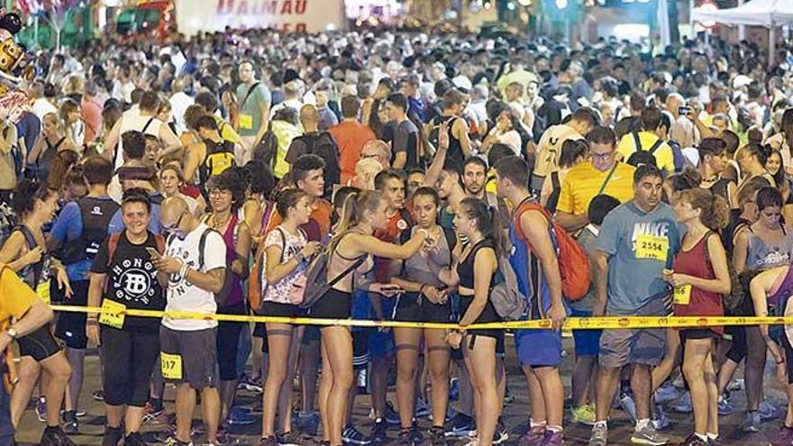 La caminata de Palma hacia Lluc se realizará aunque no arranque desde la plaza Güell