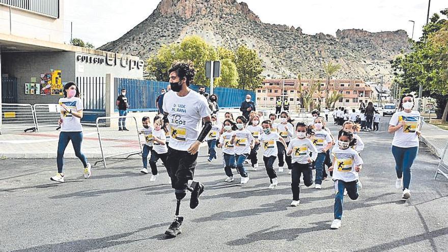 El Ope de Archena clausura su semana cultural con una actividad dedicada al deporte paralímpico