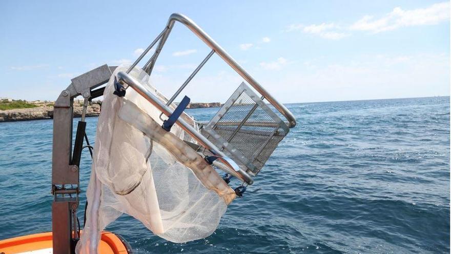 Müllboote sammeln im Juni wieder mehr Abfall vor der Küste von Mallorca ein