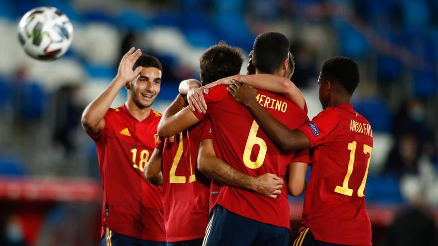 Espanya guanya a Suïssa i agafa el lideratge com  un regal