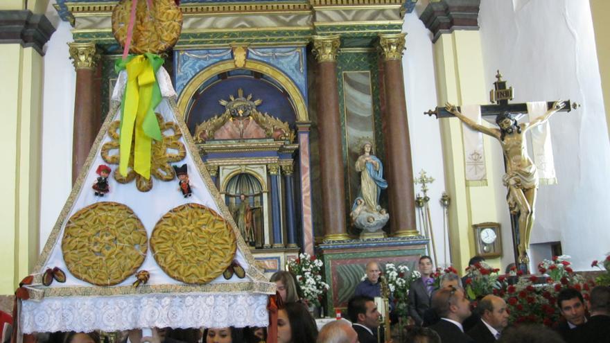 Santa Cristina de la Polvorosa repartirá dulces entre los vecinos para celebrar la fiesta del Cristo