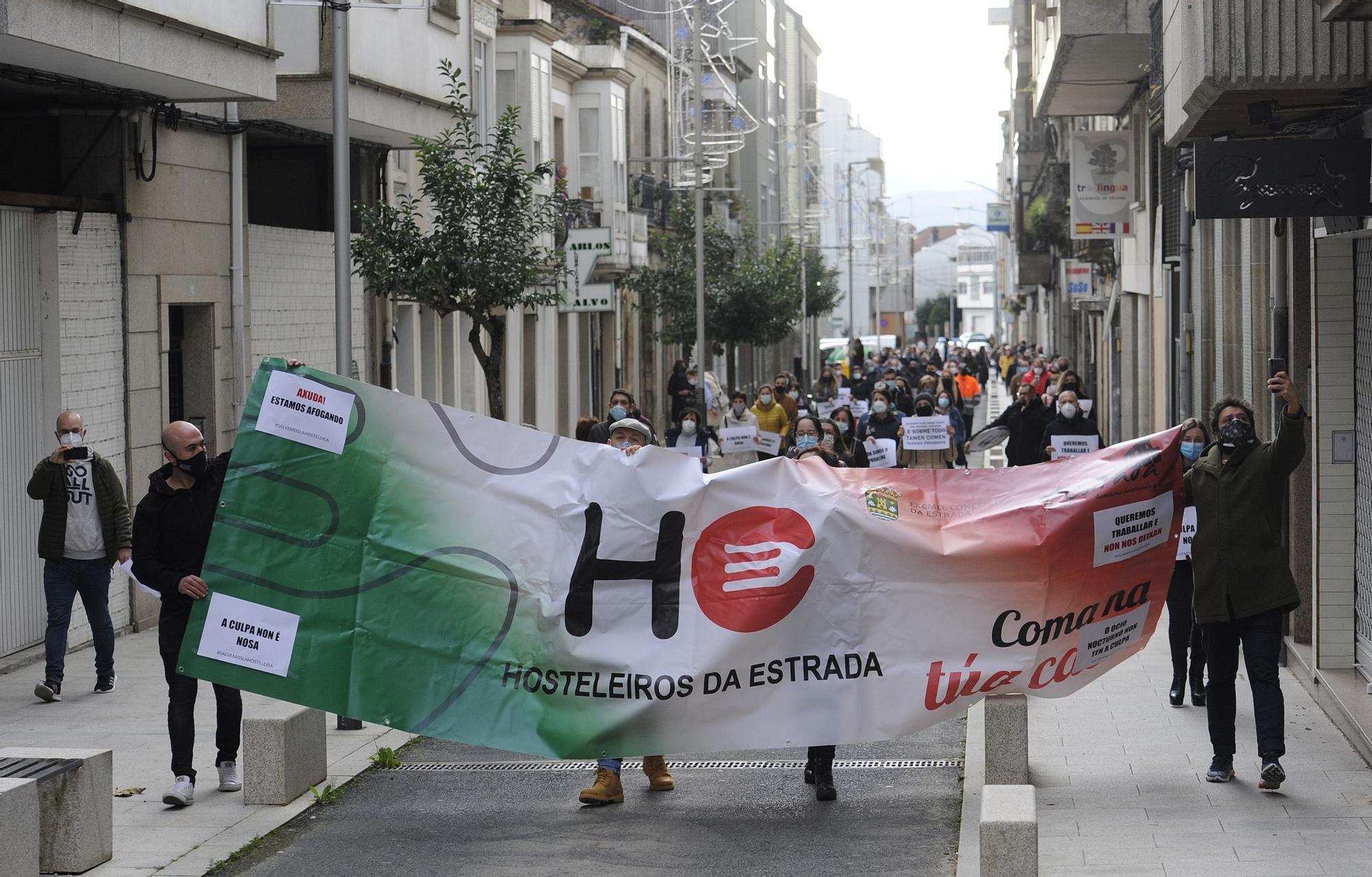 La hostelería de A Estrada sale a la calle.