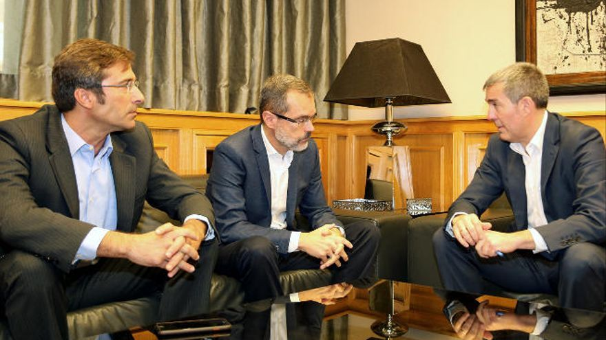 Clavijo solicita una reunión con Datis por los sondeos petrolíferos autorizados por Marruecos