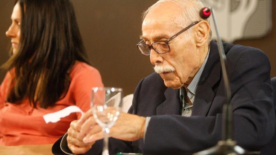 Hilario Tundidor, en su 80 cumpleaños.