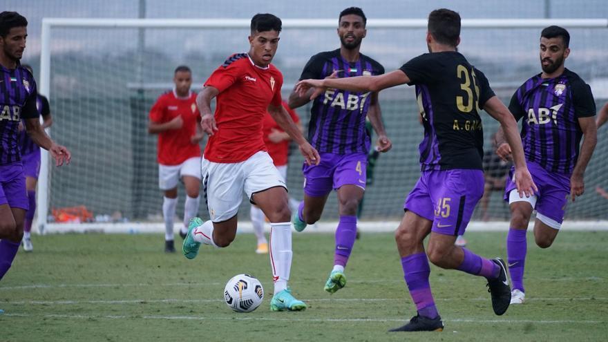 El Real Murcia no encuentra el gol y cae ante el Al Ain (0-1)