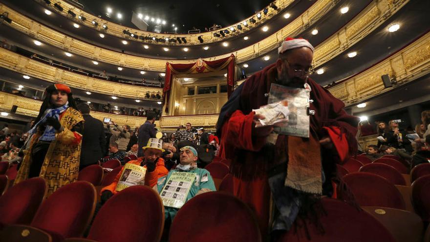 Los disfraces más originales de la Lotería de Navidad