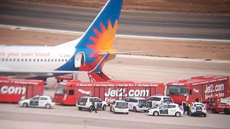Catorce británicos ebrios provocan un altercado en un avión de Edimburgo a Palma