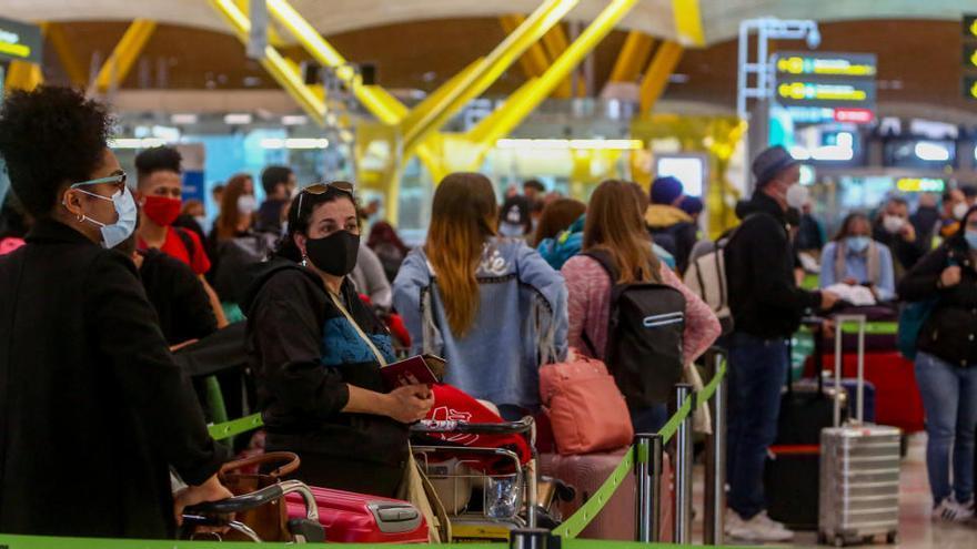 Nuevas normas para la llegada de pasajeros a España