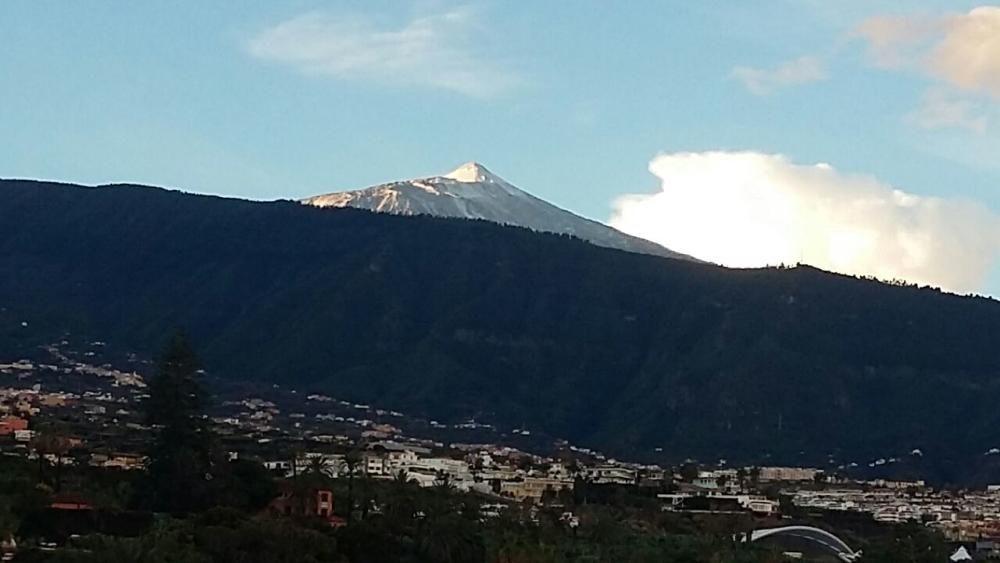 Nieve en el Teide