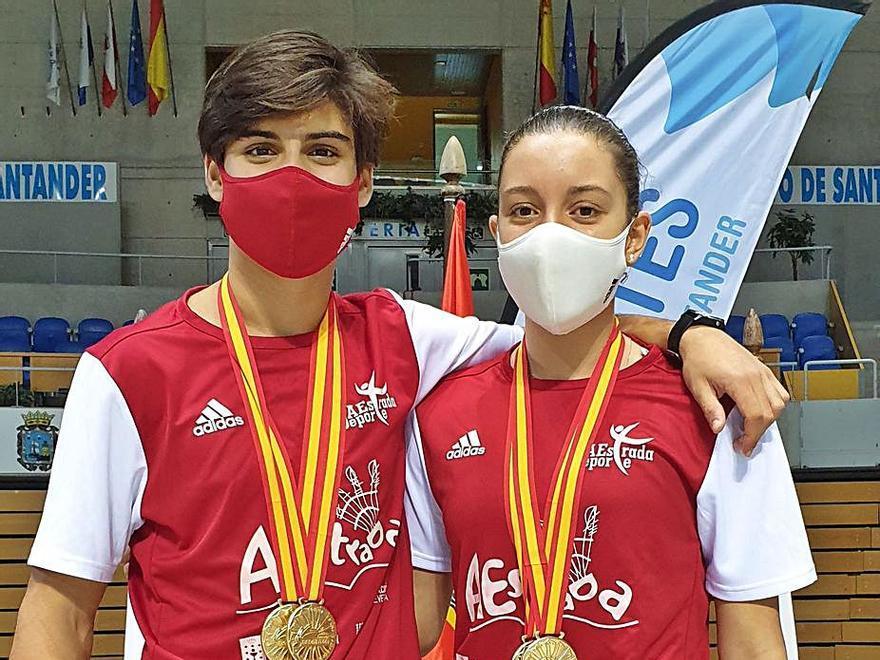 Carulla y Sanjurjo, en el número seis y once del ranking europeo