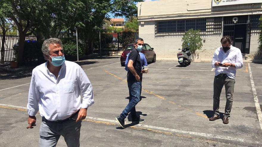 Enrique Ortiz continuará al frente del Hércules