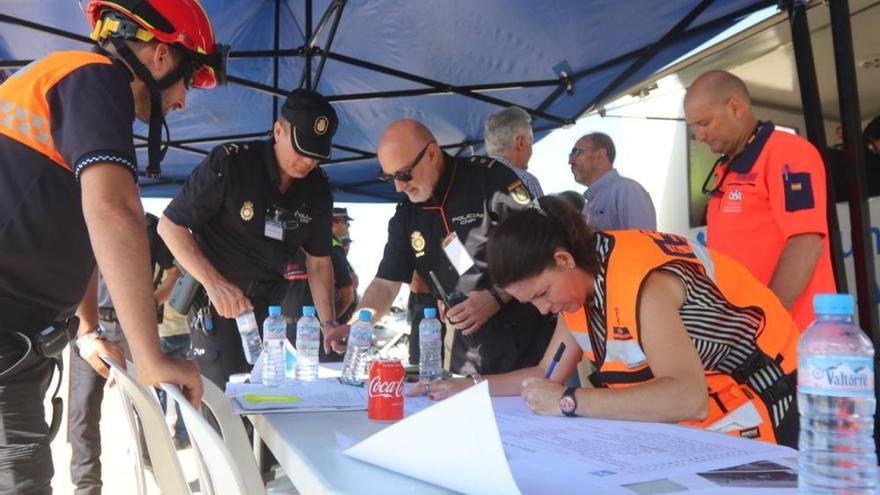 Andalucía se prepara para tres grandes catástrofes simuladas