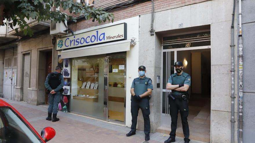 Cazan a un criminal británico en una operación contra el tráfico de armas en Murcia