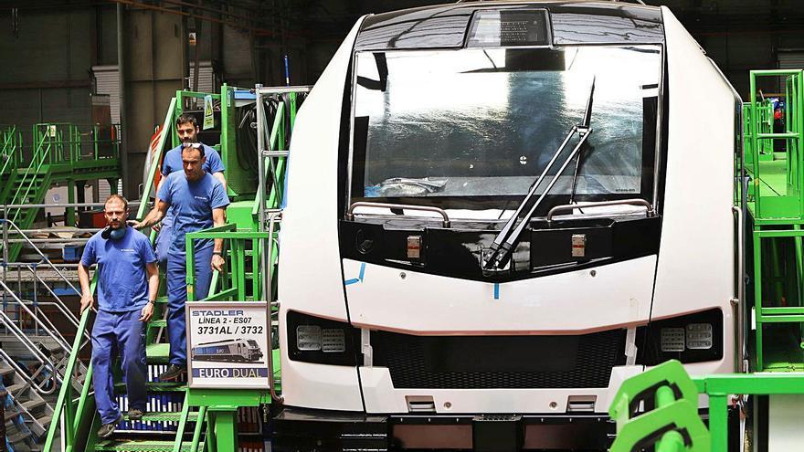 Stadler fabricará en València 80 tranvías pedidos por Italia por 172 millones