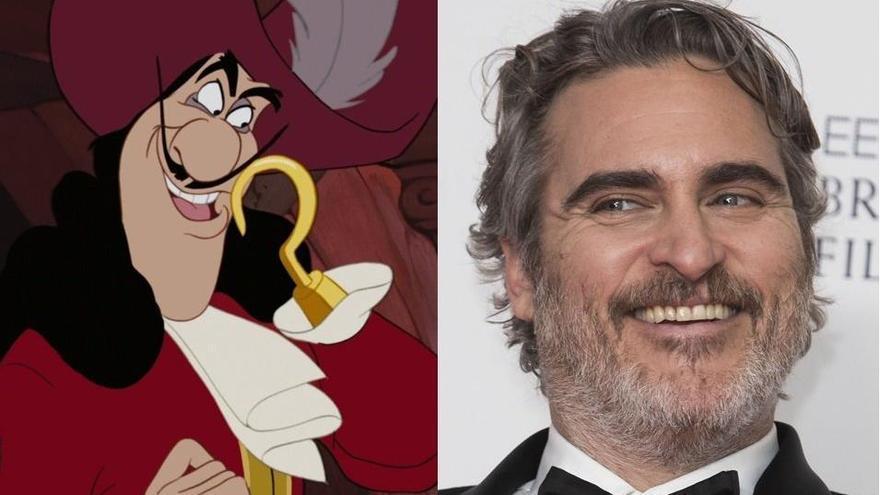 Disney quiere a Joaquin Phoenix como Capitán Garfio