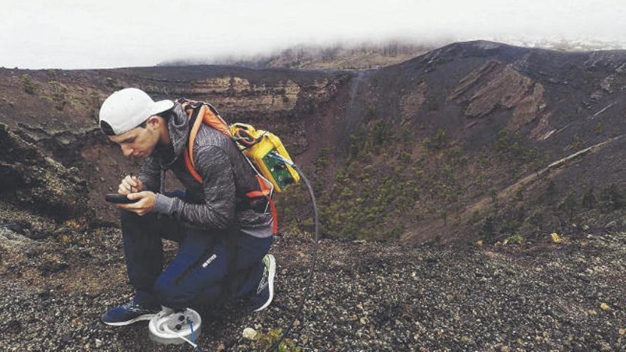 Un estudio en 3D revela un sistema geotérmico activo en Cumbre Vieja