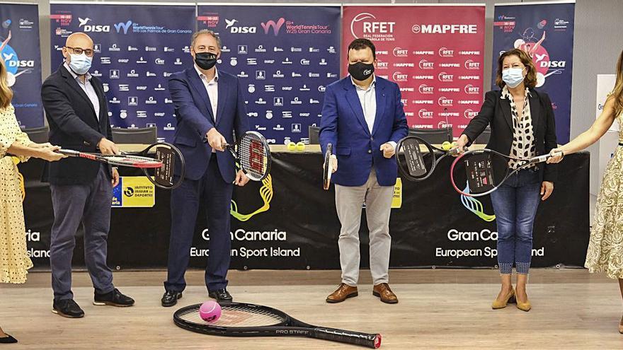 Todo listo para los torneos ITF World Tennis Tour Disa 2020 en Lomo los Frailes