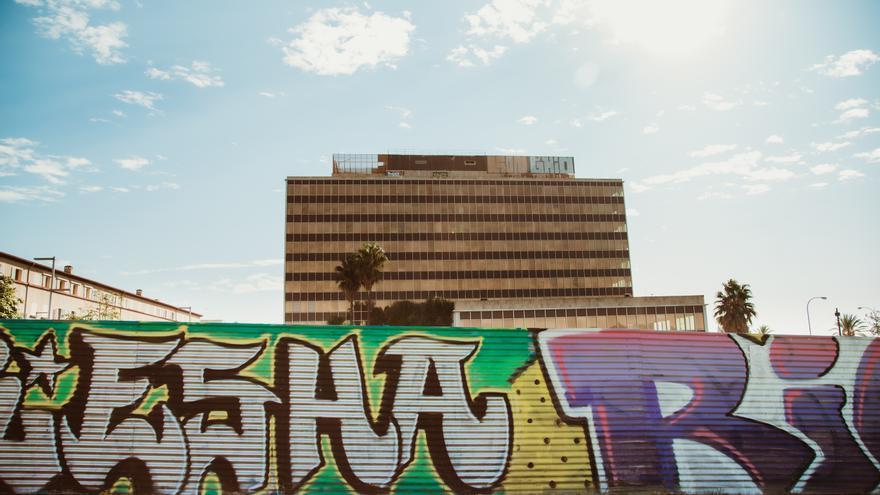 Tras las firmas de los grafiteros de Palma