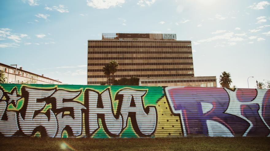 Tras las firmas de los grafiteros