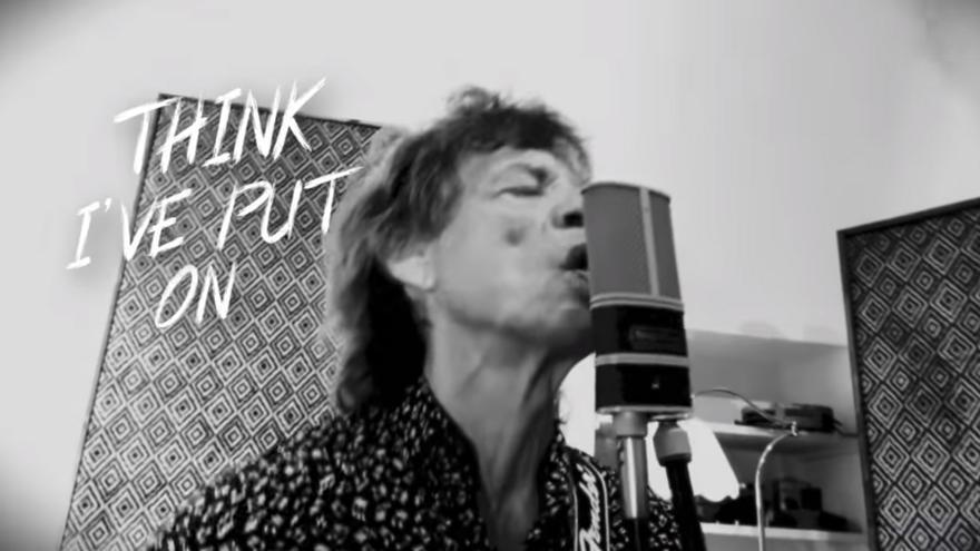 Mick Jagger publica una nueva canción, 'Eazy Sleazy!'