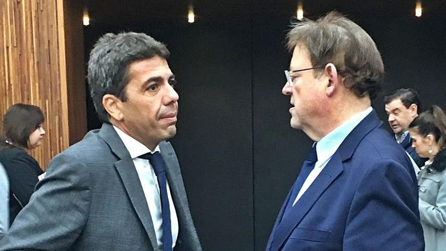 Mazón lanza un nuevo envite al Consell: se suma al Fondo de Cooperación pero con su plan inversor