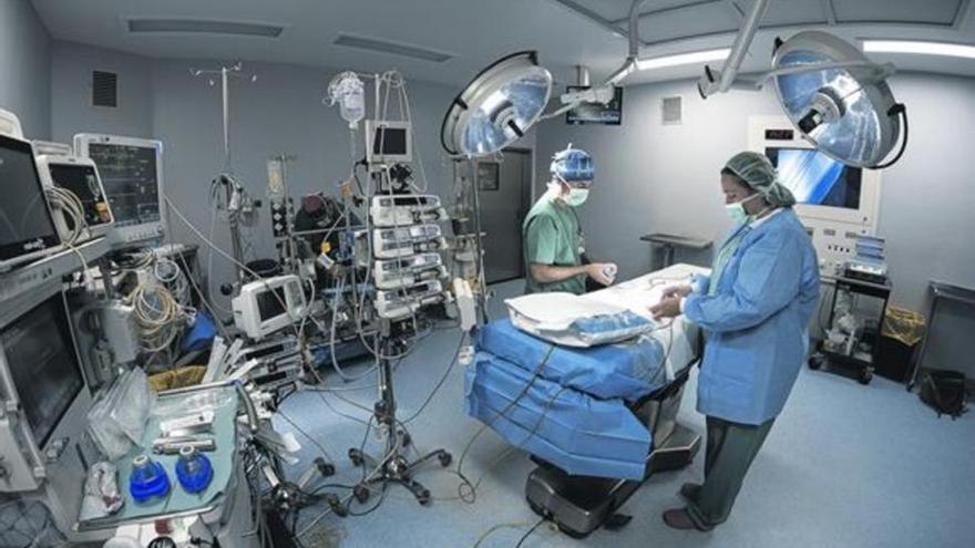 Casi 2.000 cirugías menos en 2020