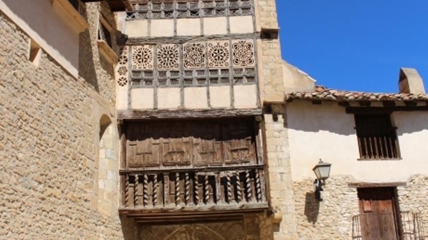 Patrimonio Cultural restaura las pinturas murales del convento de las Agustinas en Mirambel