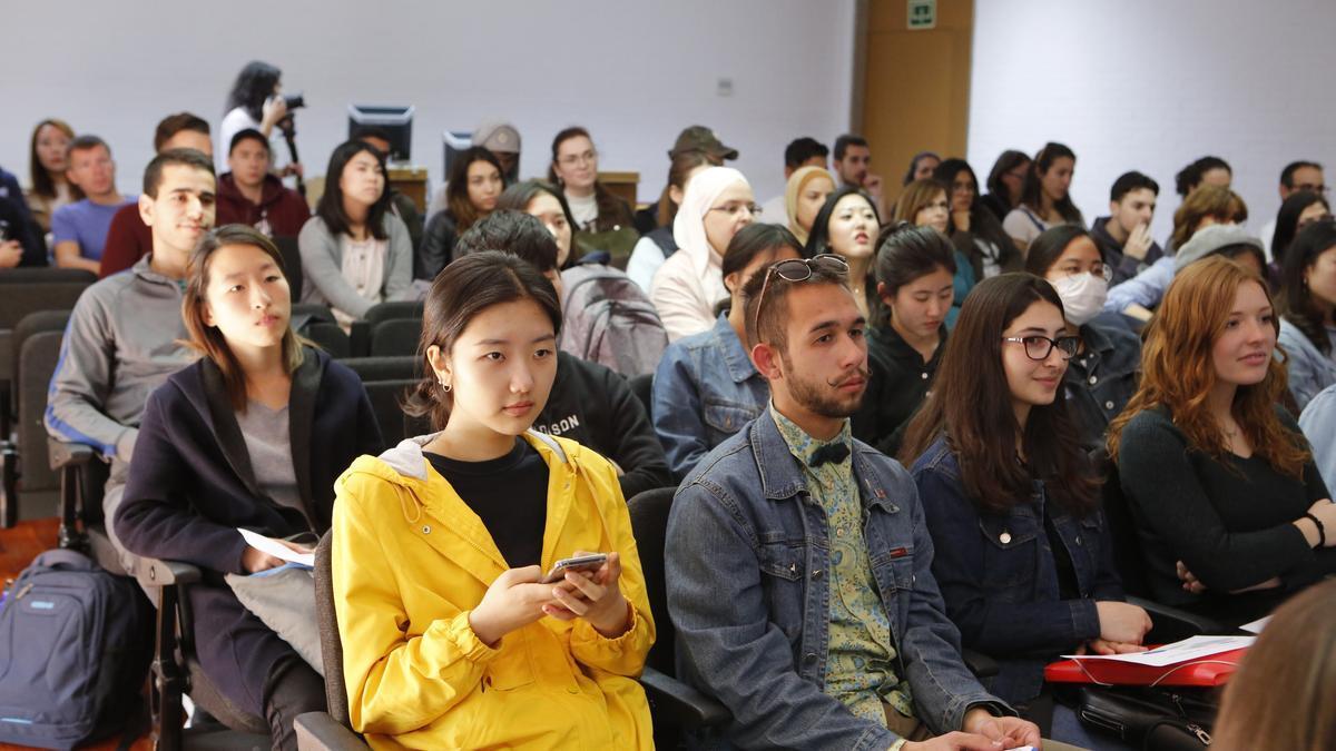 Actividad con alumnos Erasmus el curso pasado en la UA