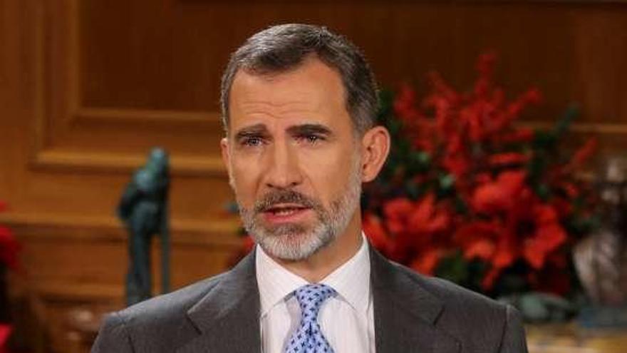 Las televisiones generalistas y las autonómicas salvo la vasca EiTB, emiten el mensaje del Rey