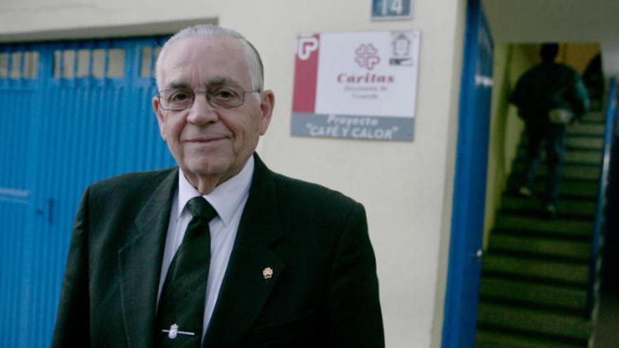 """Leonardo Ruiz del Castillo: """"Mi esperanza: ver a Canarias abandonar la cola de la pobreza"""""""