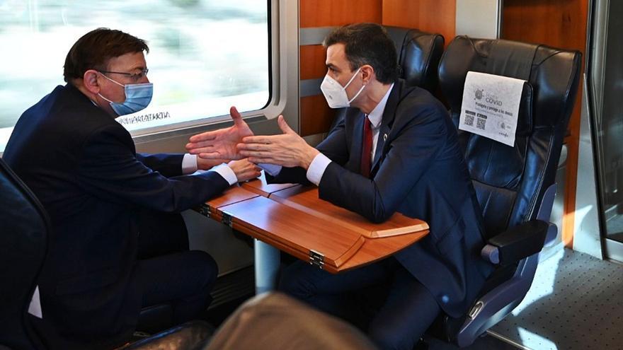 Puig exige al Gobierno que le entregue la gestión de los Cercanías como a Cataluña