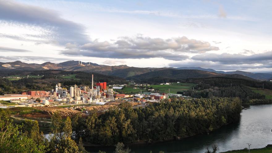 Ence Navia, la industria que genera su propia energía