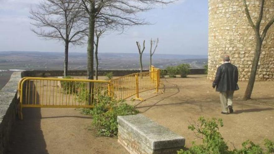 Sedano reclama obras de emergencia al ceder terrenos cercanos al Alcázar
