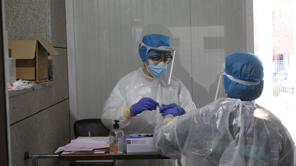 Pruebas de coronavirus en Castellón