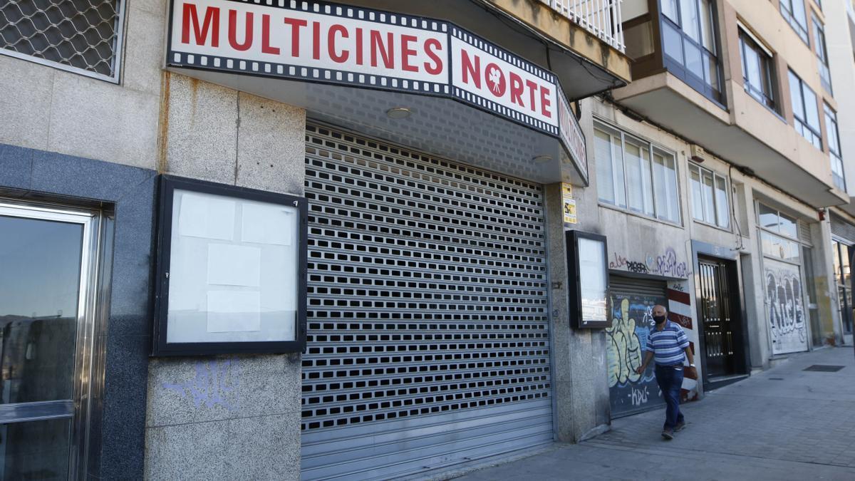 Los Multicines Norte llevaban cerrados desde marzo de 2020 por la pandemia