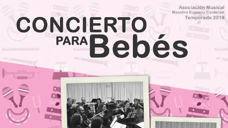 La Asociación Musical 'Maestro Eugenio Calderón' celebrará el día de los músicos con un concierto para bebés y otro de Tributos Sinfónicos